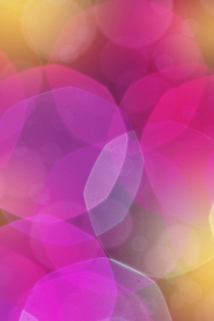 Blur creative colored light abstract background with bokeh defocused lights