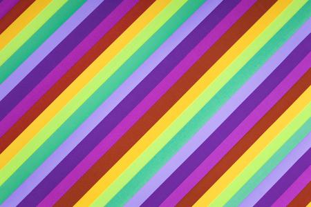 Multicolour stripes background. Nobody. Closeup image Stock Photo