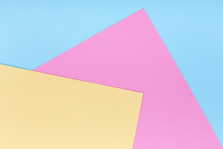 Pastel colored paper texture minimalism background, top view