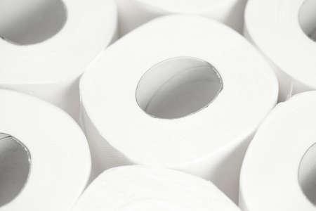 Toilet paper background. Closeup. Nobody Reklamní fotografie - 153664232