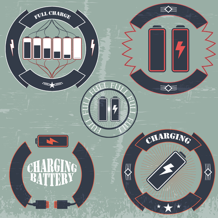 charge: full charge, battery, charging, drained battery, old school, grunge