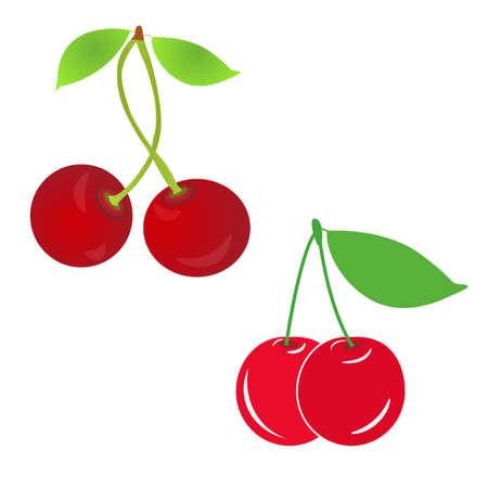 sour cherry: sweet cherry