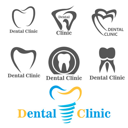 dental clinic: dental . sign dentist. dental clinic