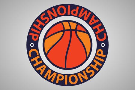 basketball championship. universal logo, basketball.