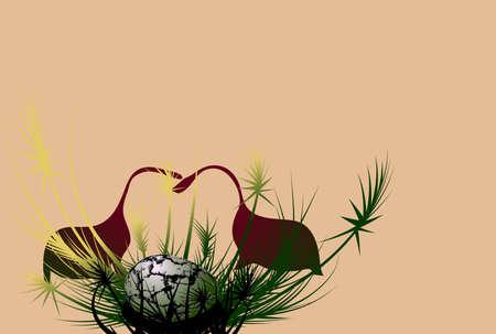 vector illustration -  of dinosaurs