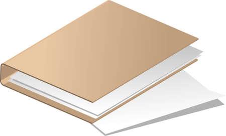 dossier: vector illustration - folder