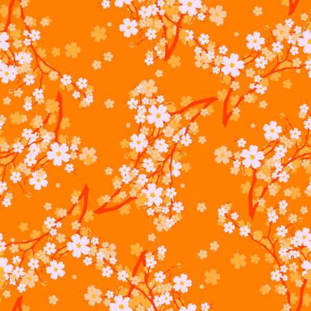 Vector illustration - Seamless vector wallpaper