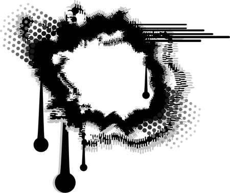 vector illustration - framework for the design Illustration