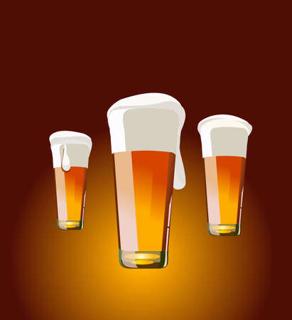 vector illustration - beer Illustration