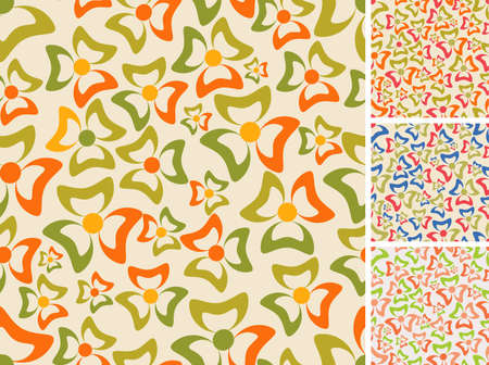 Seamless vector- Four color solutions Vector
