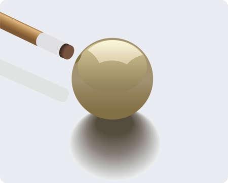 billiard - super game Stock Vector - 3885106