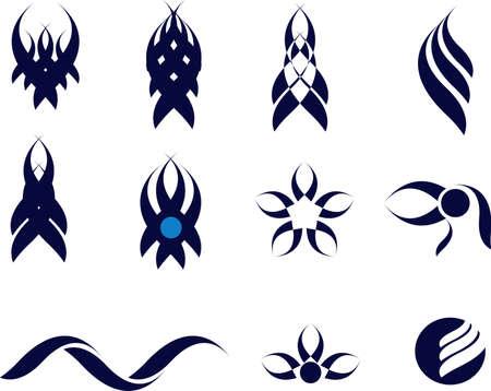 set of tatoo Illustration