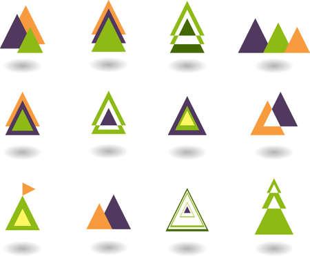 set of logos- nature