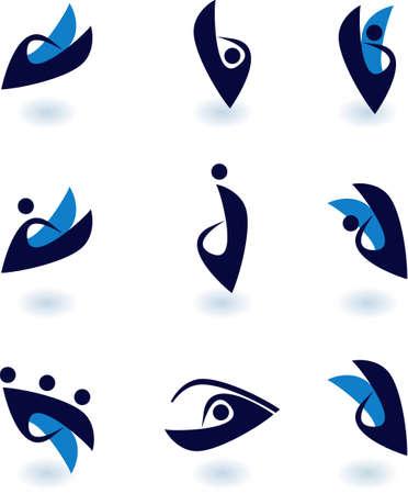 vector simbol  Illustration