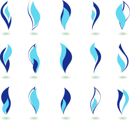 vector simbol - gas Illustration