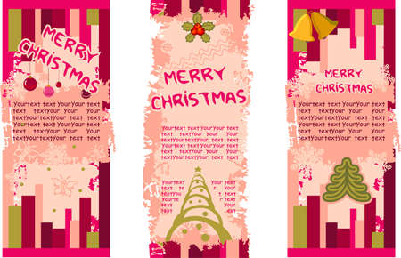 Christmas decoration - banners Vector