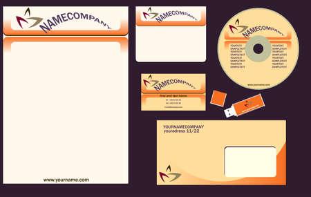 headed: vector corporate identity