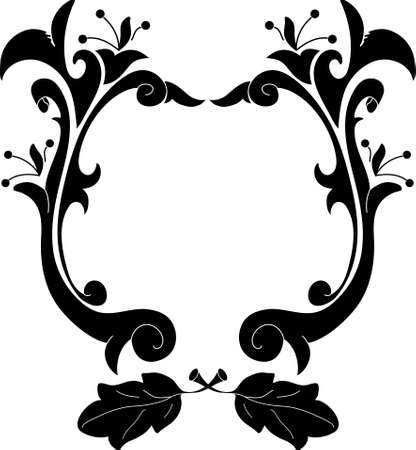 Old vintage frame Stock Vector - 4819120