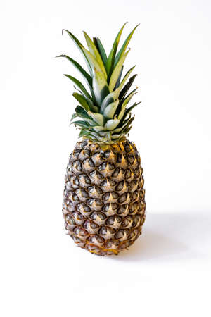 Pineapple on a white background Фото со стока