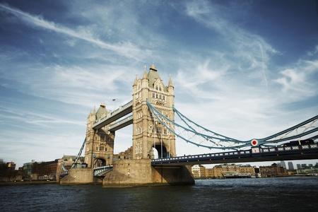 south london: tower bridge of London at day