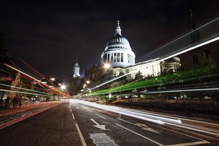 shot of St  Paul Standard-Bild