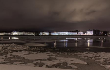 st  petersburg: Universitetskaya embankment, St. Petersburg, Russia