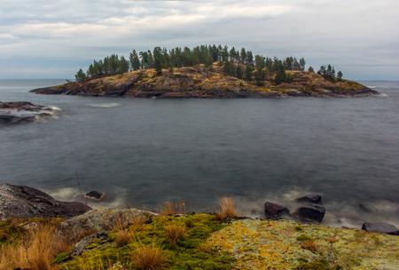 ladoga: Skerries of Ladoga lake, Karelia