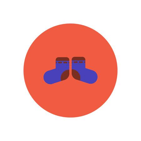 girotondo bambini: icona di stile nei bambini calzini di colore cerchio