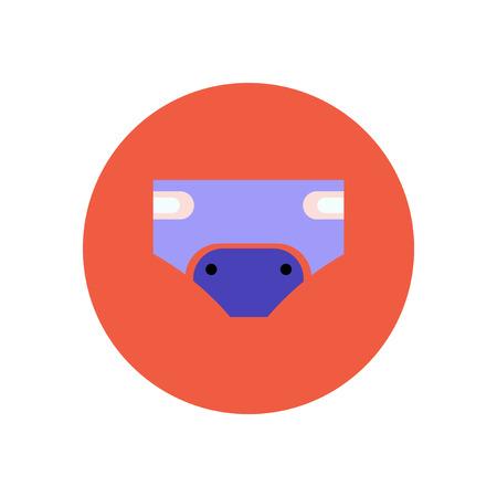 girotondo bambini: icona di stile nel colore cerchio bambini pannolini