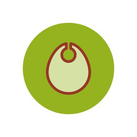 girotondo bambini: icona di stile nel colore cerchio bambini pettorina