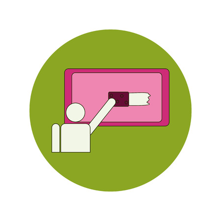 flaw: Back to School and Education Vector Flat Design school board