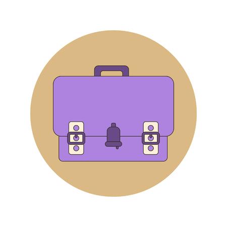 case studies: Back to School and Education Vector Flat Design school bag