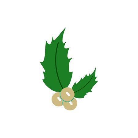 rowanberry: new year rowanberry Vector illustration christmas rowanberry