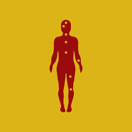 Ebola symptoms pain points on human body