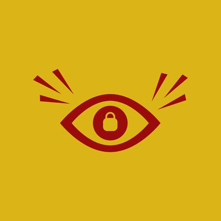 eye problems Illustration