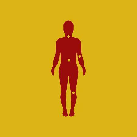 artrosis: osteoartritis puntos en el cuerpo