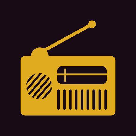 old radio: retro radio, old radio