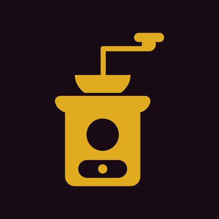 grinder: retro coffee grinder