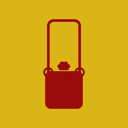 flat icon travel suitcase Illustration
