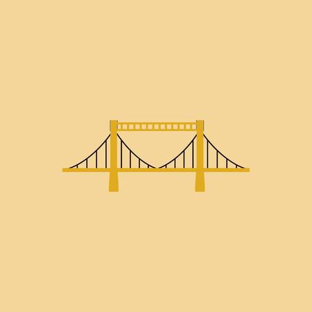 balustrade: metal cable suspension bridge, modern bridge