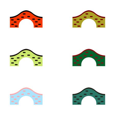 keystone: Bridges collection, Brick Bridges set