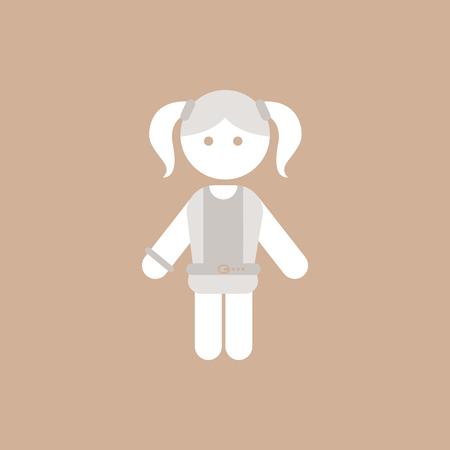 cute girl: little girl, kid, child, cute girl