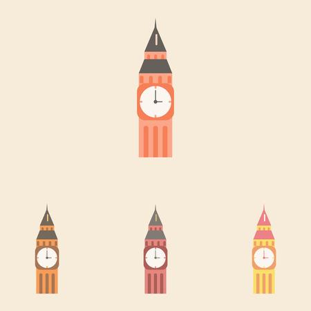 parliament: Big ben, monument of london big ben set