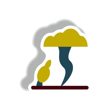 Tornado sticker