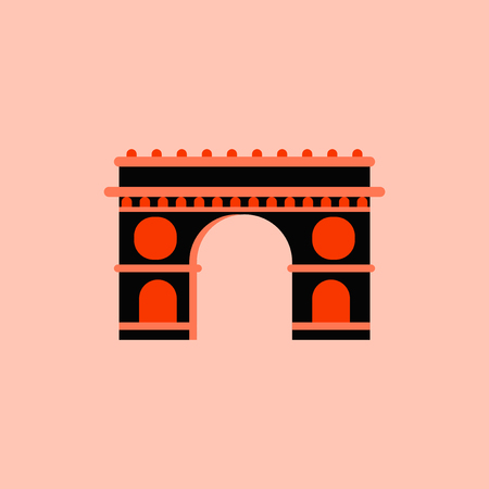 french culture: Triumphal arch architecture Illustration