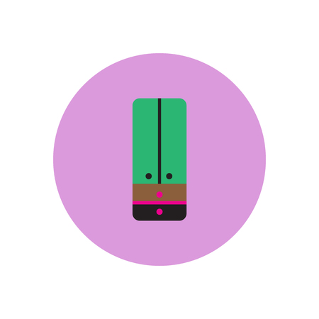 Vector icon on the white backgrounds in circles  cupboard