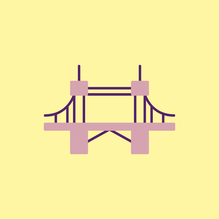 motorway: metal cable suspension bridge, modern bridge