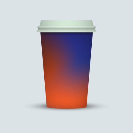 Coffee cup vector illustration. coffee take away