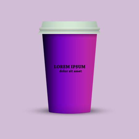 thermal mug coffee cup Illustration