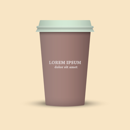 Coffee cup icon. coffee cup take away. plastic coffee cup to go